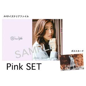 STORE開設記念!期間限定グッズ クリアファイル+ポストカード 【Pink Set】